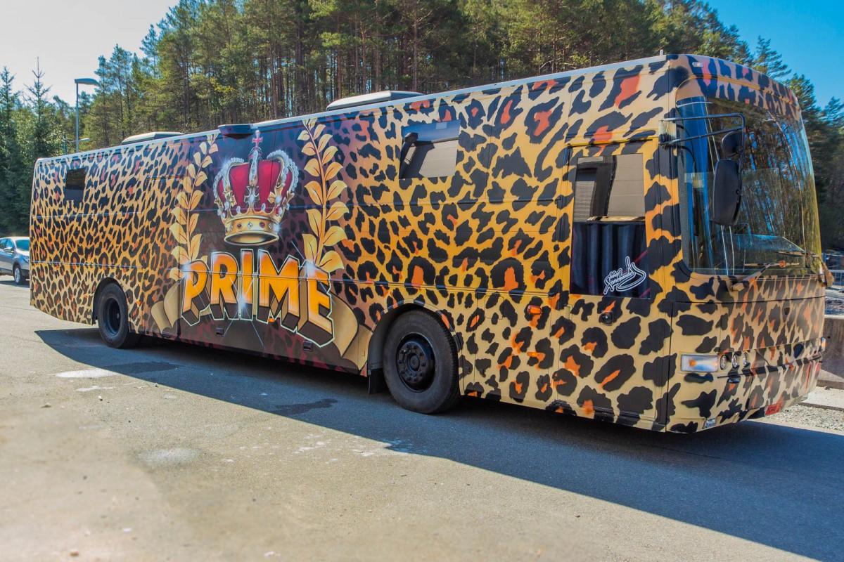 Russebuss - Prime 2015