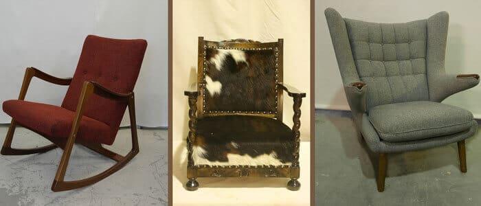 Restaurerte stoler